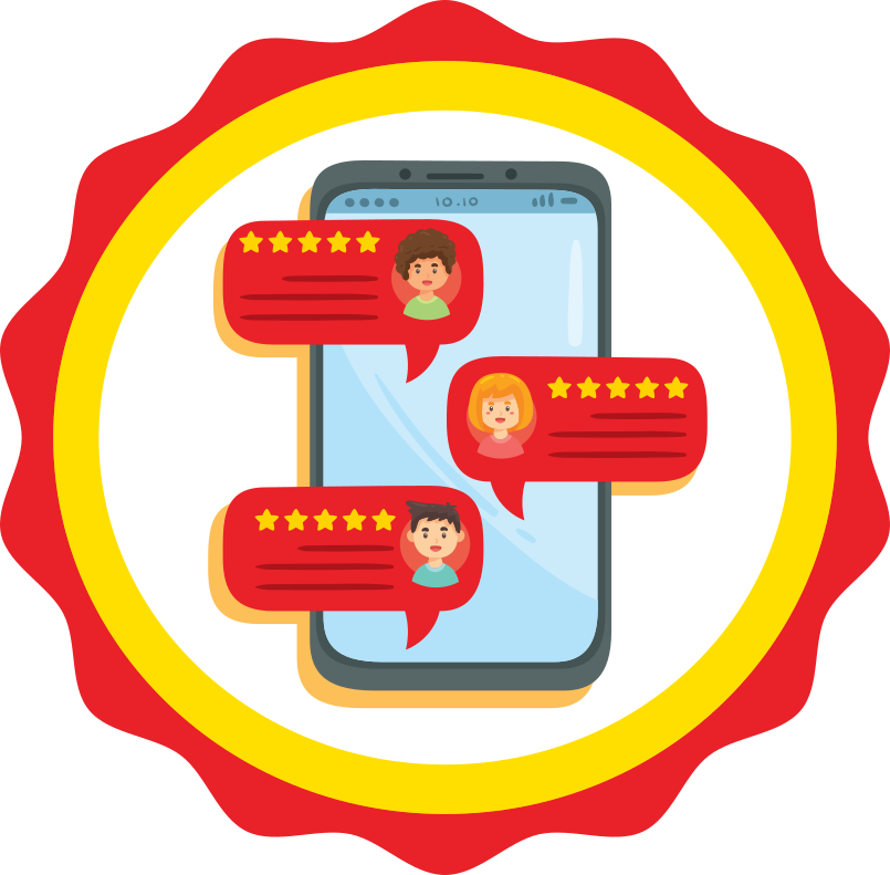 Feedback Badge Icon