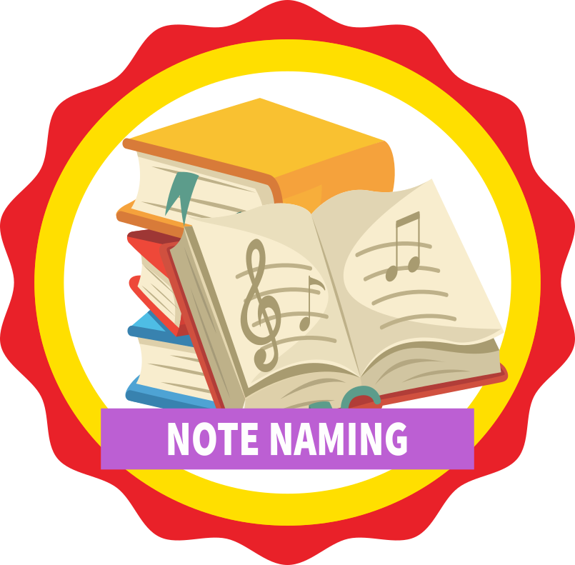 Note Naming Icon